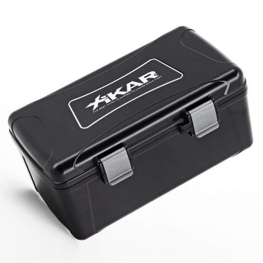 XIKAR 15 Cigar Travel Humidor Water and Crush Resistant