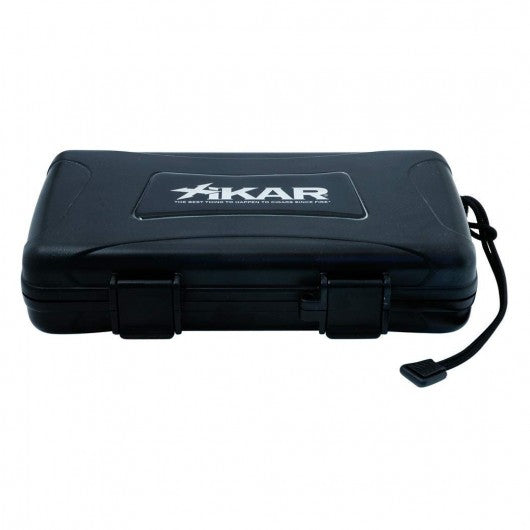 XIKAR 5 Cigar Travel Humidor Crush and Water Resistant