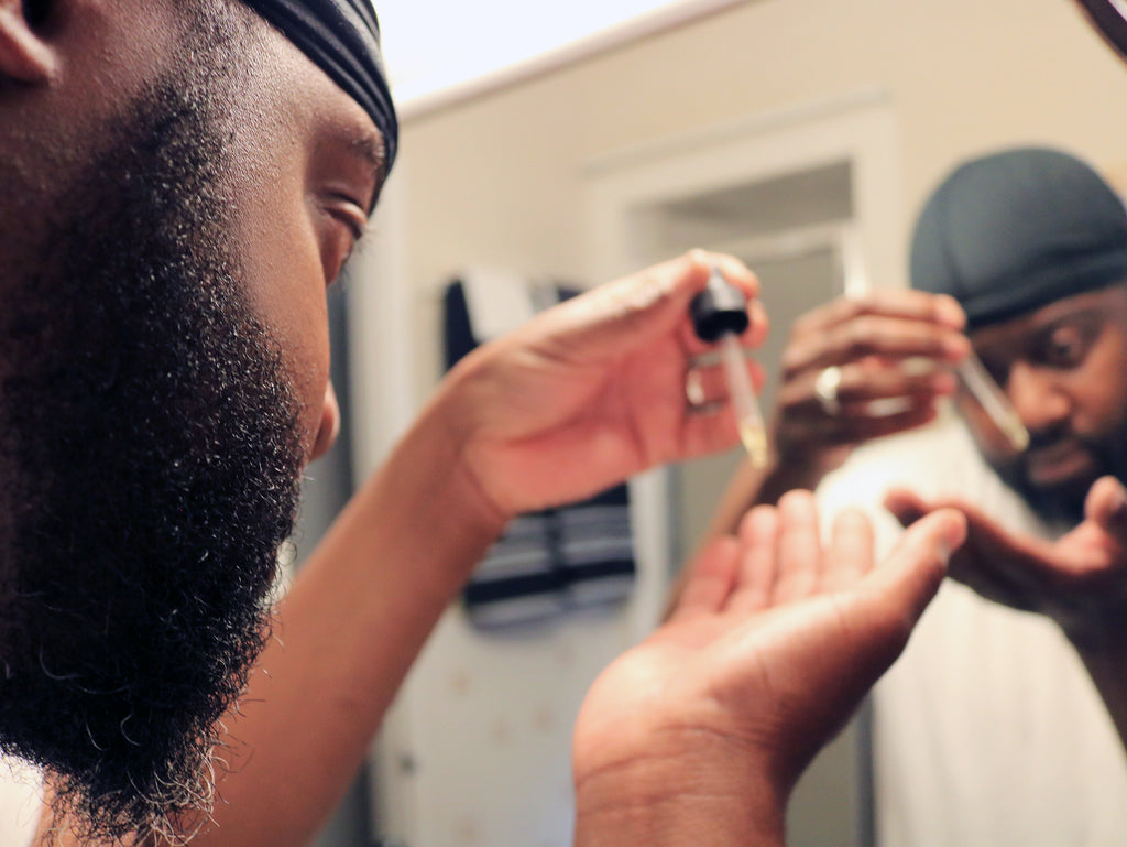 Night Beard Grooming Routine