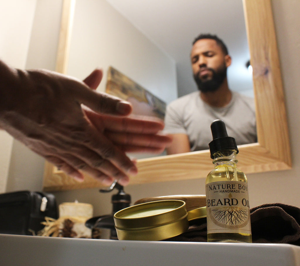 Morning Beard Grooming Routine