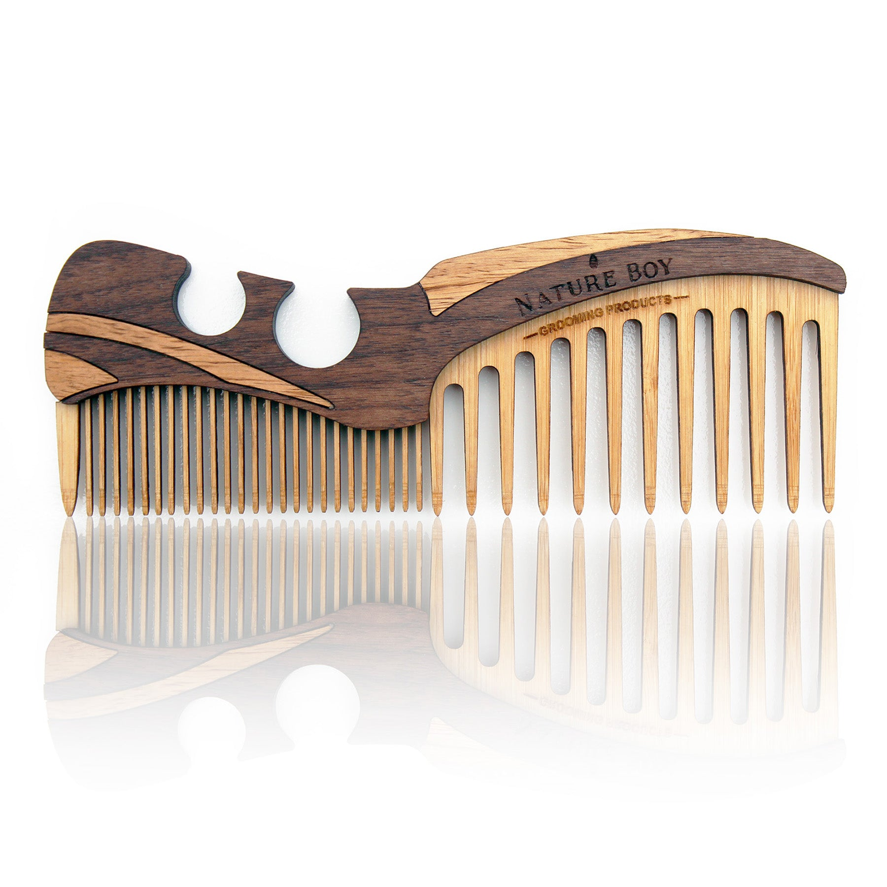 NATURE BOY Wooden Beard Comb