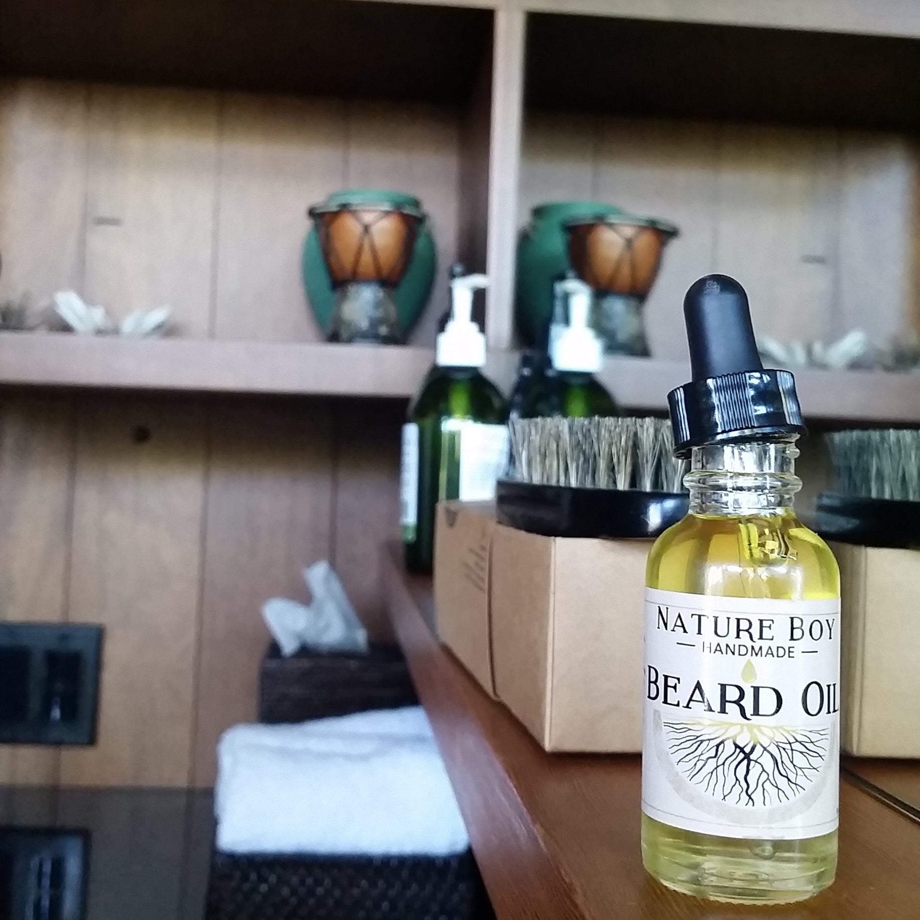 NATURE BOY Beard Oil No.1