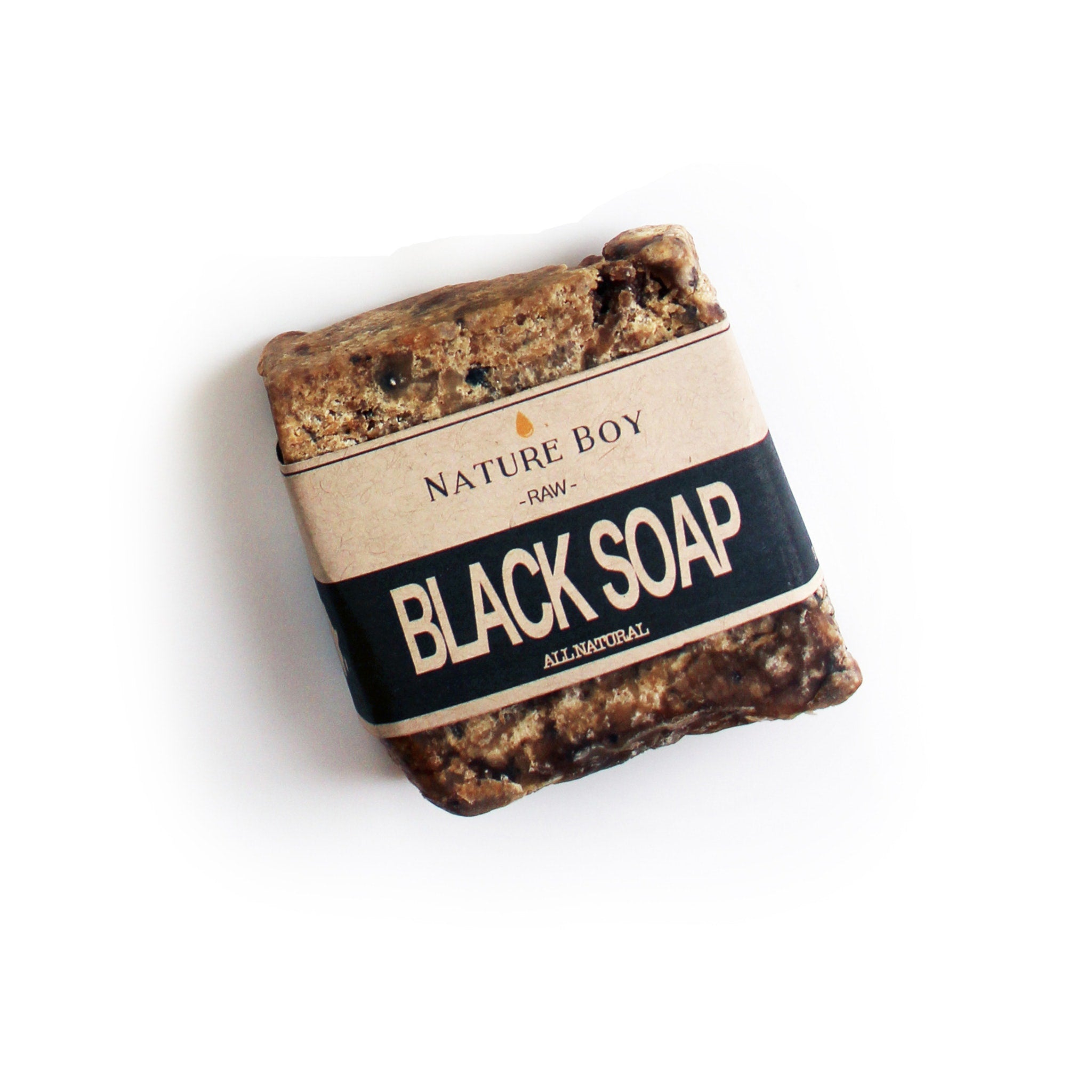 NATURE BOY Raw Black Soap