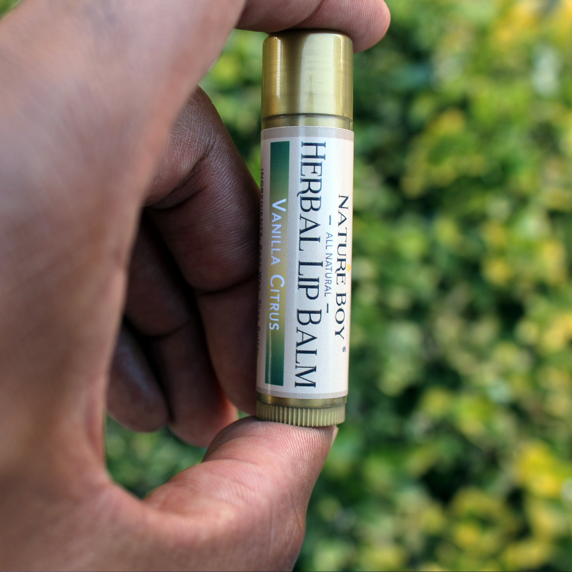NATURE BOY Herbal Lip Balm