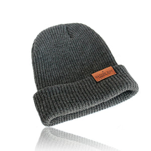 NATURE BOY G. S. Beanie - Charcoal