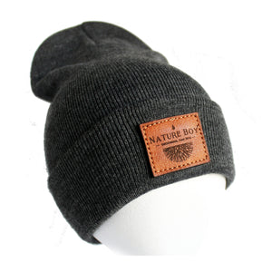 NATURE BOY Classic Beanie - Charcoal