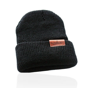 NATURE BOY G. S. Beanie - Black