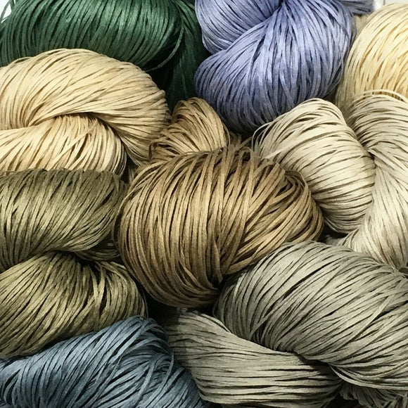 Dyed and Undyed Yarn
