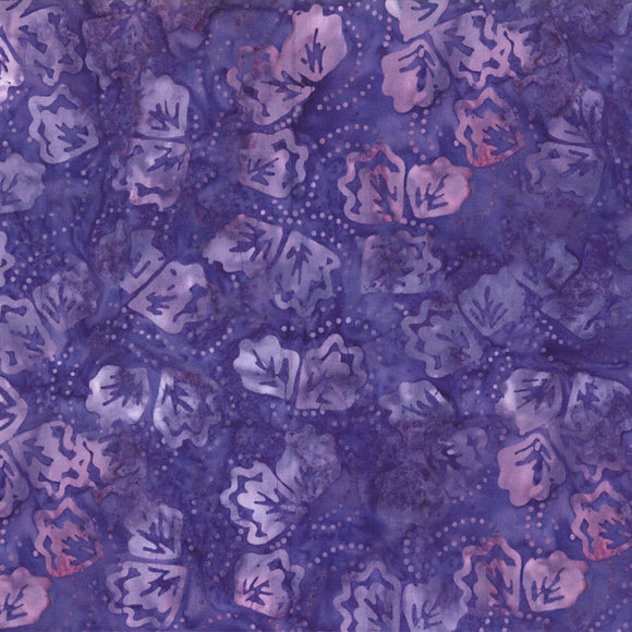 WIlmington 22184-636, Purple Batik Quilting Fabric