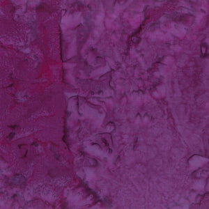 Hoffman Fabrics #423 Marsala, Dark Purple, 1895 Bali Watercolors Batik, Cotton, Quilting Fabric