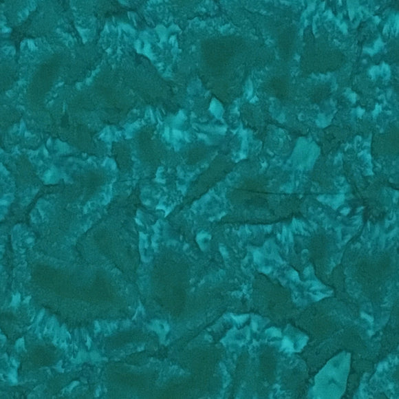 AMD-7000-372 Bluegrass, Kaufman Prisma Dyes, Blue-Green, Cotton Batik Quilting Fabric