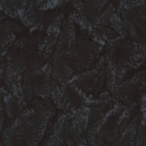 AMD-7000-182 Licorice, Kaufman Prisma Dyes, Dark Grey, Cotton Batik Quilting Fabric