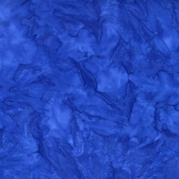 AMD-7000-387 Blueprint, Kaufman Prisma Dyes, Blue, Cotton Batik Quilting Fabric