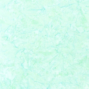 AMD-7000-241 Seafoam, Kaufman Prisma Dyes, Light Blue Green, Cotton Batik Quilting Fabric