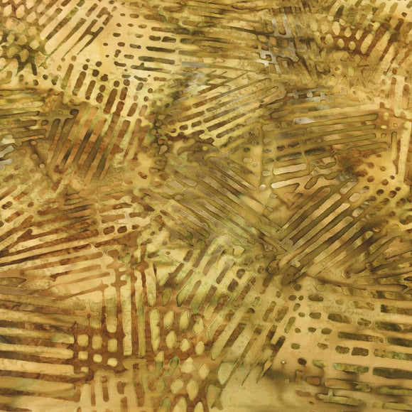 AMD-19772-133 Gold, Kaufman Batik, Gold, Cotton Batik Quilting Fabric