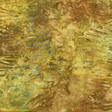 AMD-19764-270 Meadow, Kaufman Batik, Gold Brown, Cotton Batik Quilting Fabric
