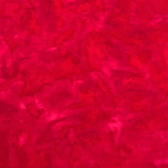 AMD-7000-3 Red, Kaufman Prisma Dyes, Red, Cotton Batik Quilting Fabric