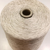 1 Cone Hasegawa Cotton Gima 8.5 Tape Yarn, Moon Beam, From Japan, 1 Pounds 15.2 Ounces w/cone