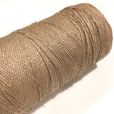 Vintage Brown Paper Yarn, 14 +/- Ounces Including Tube, Crafting