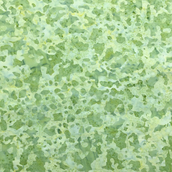 Wilmington Batik Fabric, #22259-774, Green, Cotton Batik Quilting Fabric