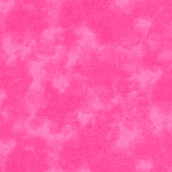 Kaufman Cloud Cover SB-87422-15 Flamingo, Bright Medium Pink, Cotton Print Quilting Fabric from Japan