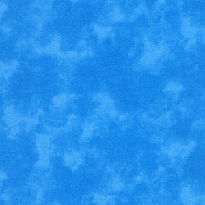 Kaufman Cloud Cover, SB-87422-21 Water, Blue, Cotton Print Quilting Fabric from Japan