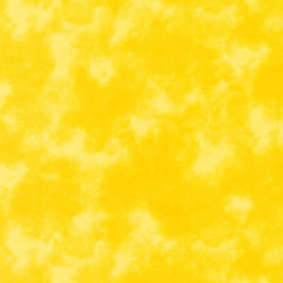 Kaufman Cloud Cover, SB-87422-30 Sunshine, Yellow, Cotton Print Quilting Fabric from Japan