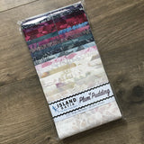 Island Batik Plum Pudding Strip Pack, Multicolored, 20 Fabrics and 40 Strips.