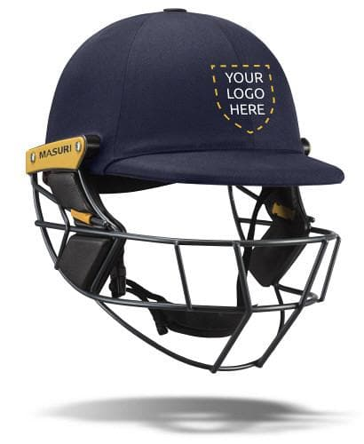 Masuri-Elite Steel Personalised Helmet