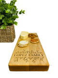 Maple Engraved Cheese Board