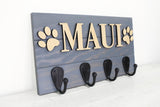 Dog Name 3D Leash Hanger