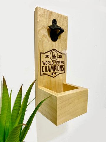 Bottle Opener With Cap Catcher