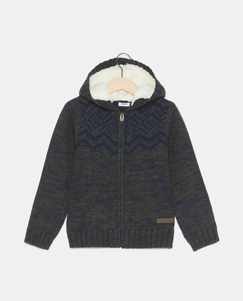 3-7 YEARS BOYS'CARDIGAN