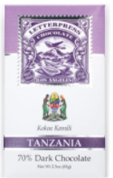 70% Dark Chocolate Bar Tanzania