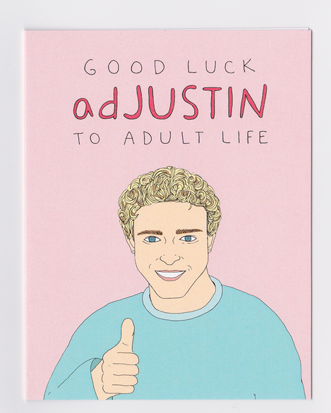 Happy Justin Timberlake Birthday Card
