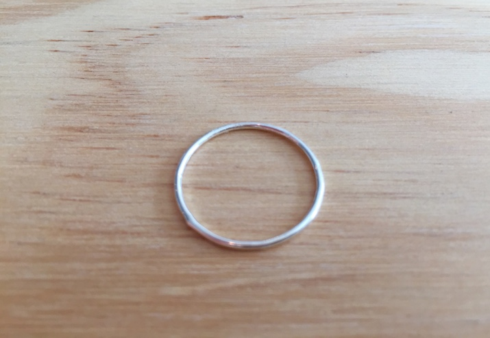 Delicate Small Gold Fill Ring