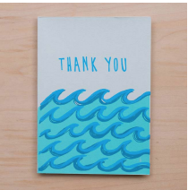 Thanks Waves Card