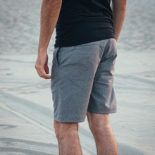 Load image into Gallery viewer, Gray Stretch Hemp Shorts