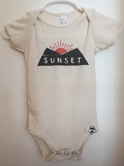 Sunset Onesie 3-6 mo