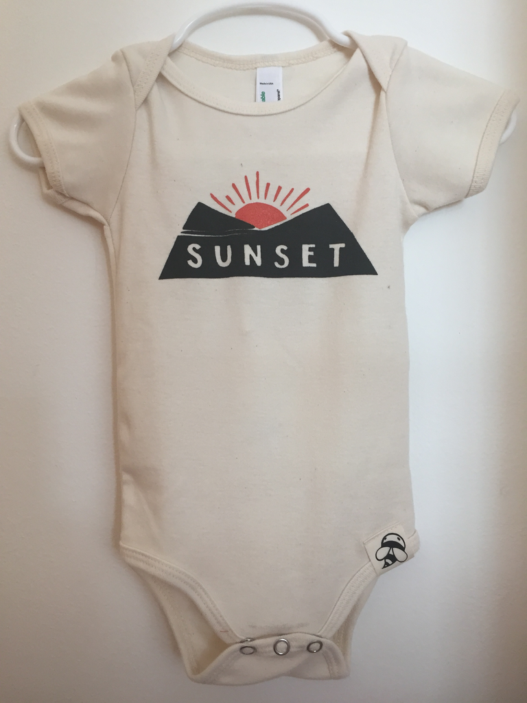 Sunset Onesie 12-18 mo