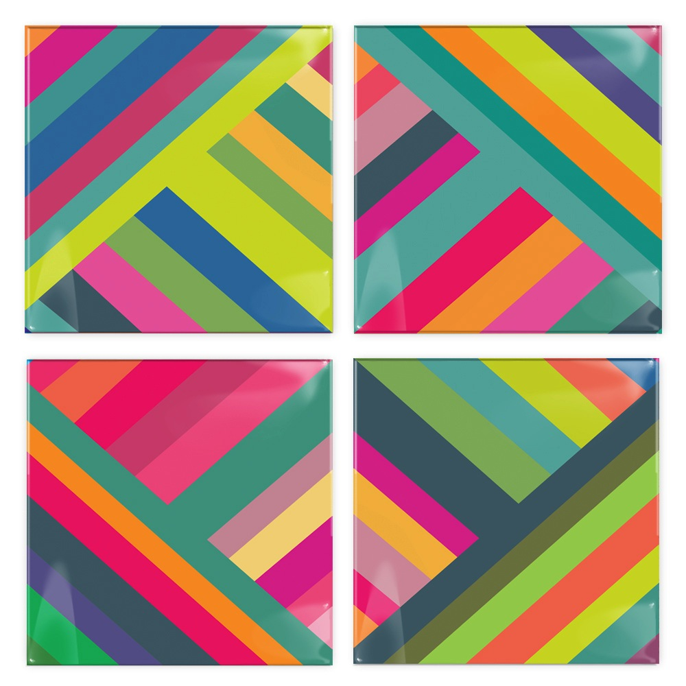 Stripes Coasters
