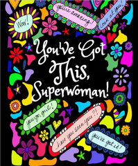 You've Got this, Superwoman Coloring Journal