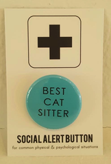 Best Cat Sitter Button