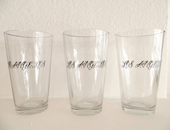Los Angeles Pint Glass