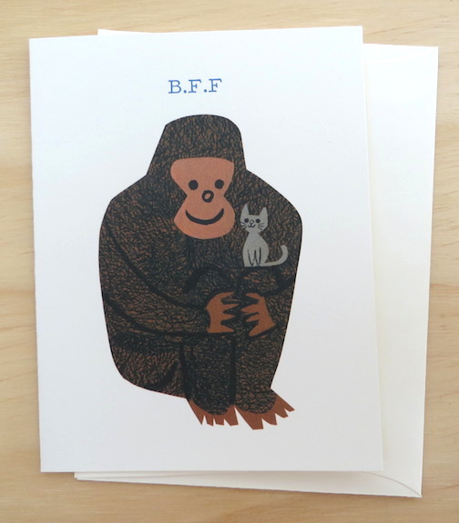 Red Cap Cards BFF Odd Couple