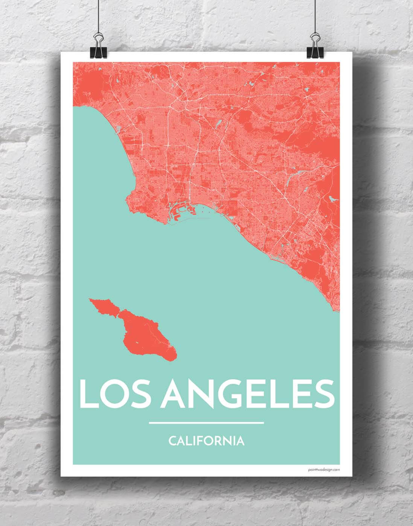 Los Angeles GIS Map