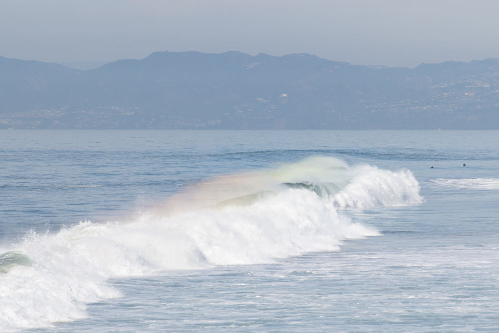 Rainbow Wave #3 5x7 matted photo