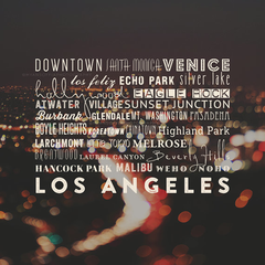 LA Neighborhoods  // Los Angeles Photography
