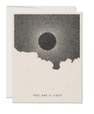 You Are a Light Card