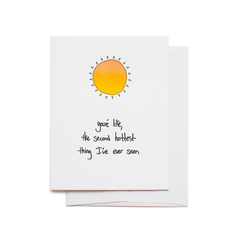 Second Hottest Thing Card